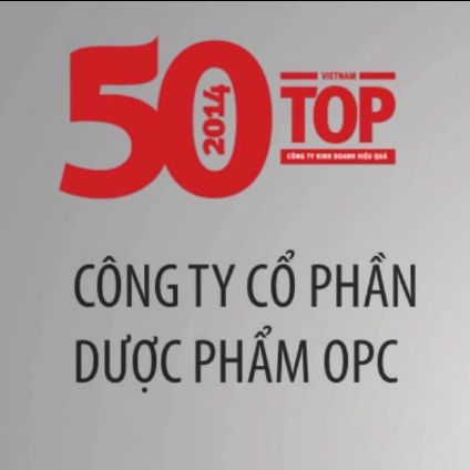 OPC - listed in the top 50 BEST-PERFORMING COMPANIES in VietNam